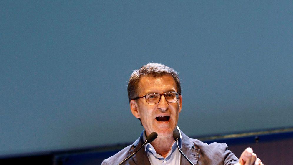 Foto: El presidente del PPdG, Alberto Núñez Feijóo. (EFE)