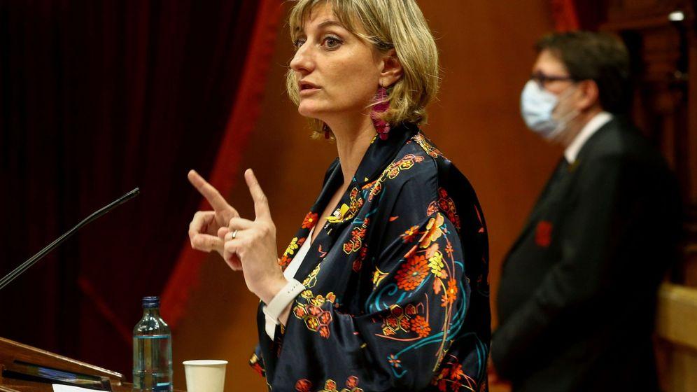 Foto: La 'consellera' de Salud de la Generalitat de Cataluña, Alba Vergés. (EFE)