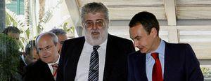 Foto: Pacto de silencio: los grandes editores de prensa se comprometen a apoyar a Zapatero ante la crisis