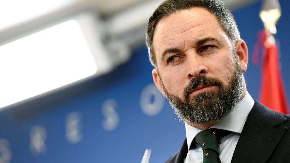 La invitación a Santiago Abascal, líder de Vox, al palco de jugadores del Real Madrid