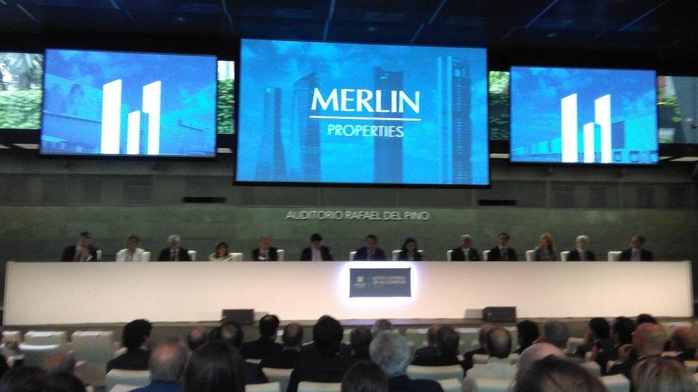 Foto: Foto de archivo de la junta de accionistas de Merlin Properties. (EP)