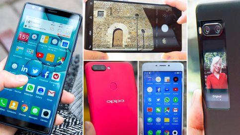 Estos son los mejores móviles chinos de 2017 que no te costarán una fortuna