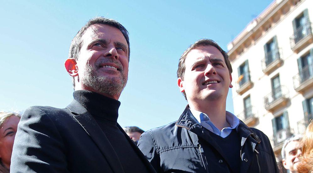 Foto: Valls junto a Albert Rivera. (Gtres)