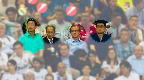 Un día en el fútbol con Villar Mir, los 'amigos' chinos y el banquero de Bankia