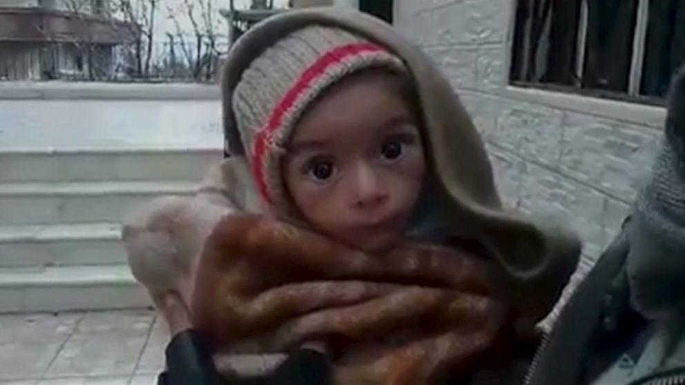 El comercio del hambre en Siria