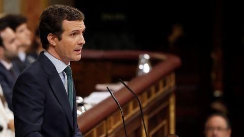Los 5 minutos de Pablo Casado en su réplica (completa) a Pedro Sánchez antes de la votación