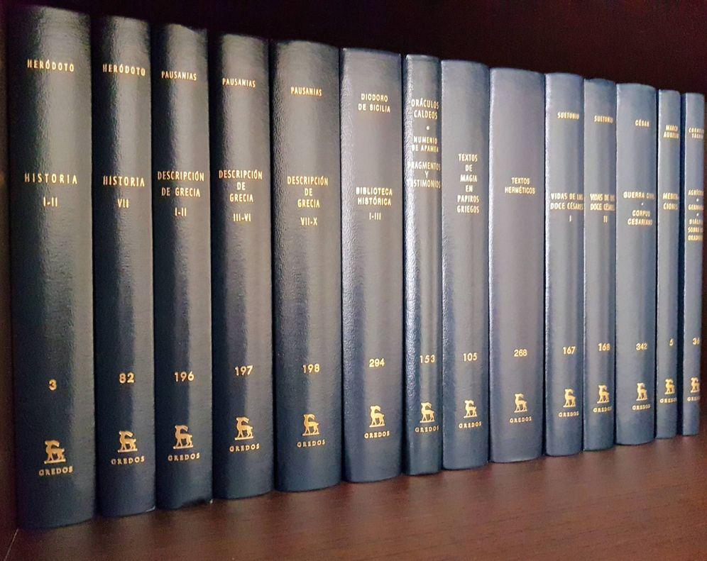 Foto: Biblioteca Clásica Gredos.
