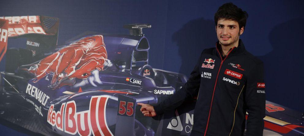 Foto: Carlos Sainz se subirá a un Toro Rosso en 2015 (Reuters)