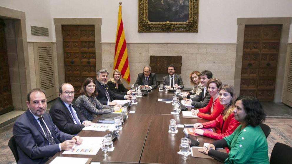 La Mesa para el diálogo de Torra nace herida por la falta de consenso