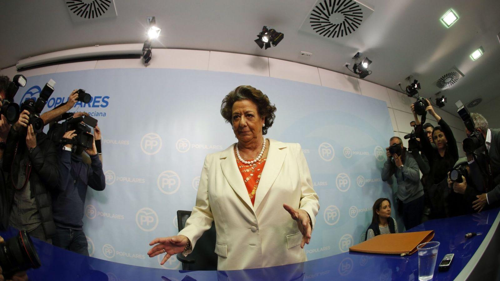 Foto: La senadora y exalcaldesa de Valencia Rita Barberá. (EFE)