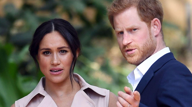 Los duques de Sussex. (Reuters)
