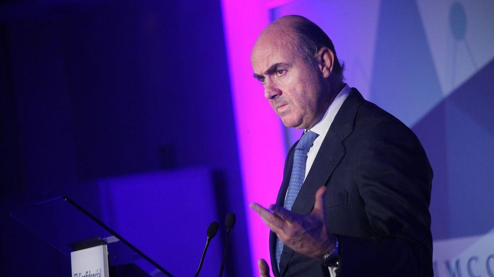 Foto: El ministro de Economía, Luis de Guindos (E. Villarino)