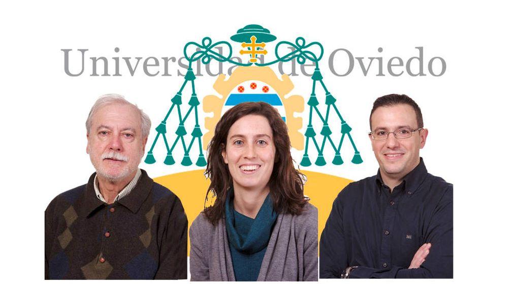 Foto: Germán Flor Rodríguez (i), Emma Quijada (c) y Germán Flor Blanco (d).