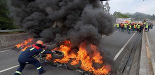 Post de Más de 1.500 trabajadores cortan el acceso a la planta de Alcoa en Lugo