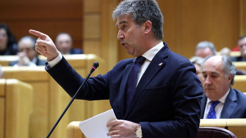 Foto: El portavoz del PP en el Senado, Ignacio Cosidó (Efe)