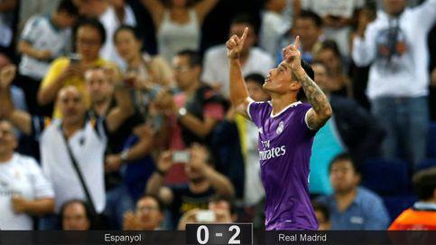 Zidane se pone a la altura de Guardiola e incluso rescata a James y Benzema
