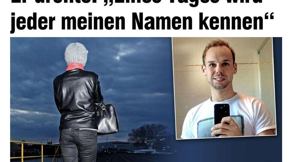 Foto: Entrevista de la exnovia de Lubitz en el diario alemán 'Bild
