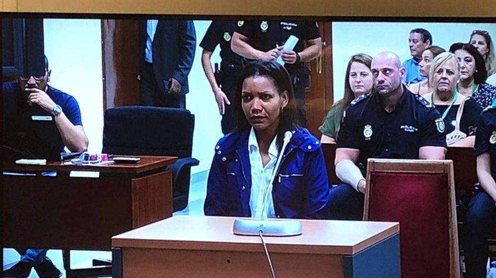 Foto: Ana Julia, este martes, en el juicio. (A. R.)
