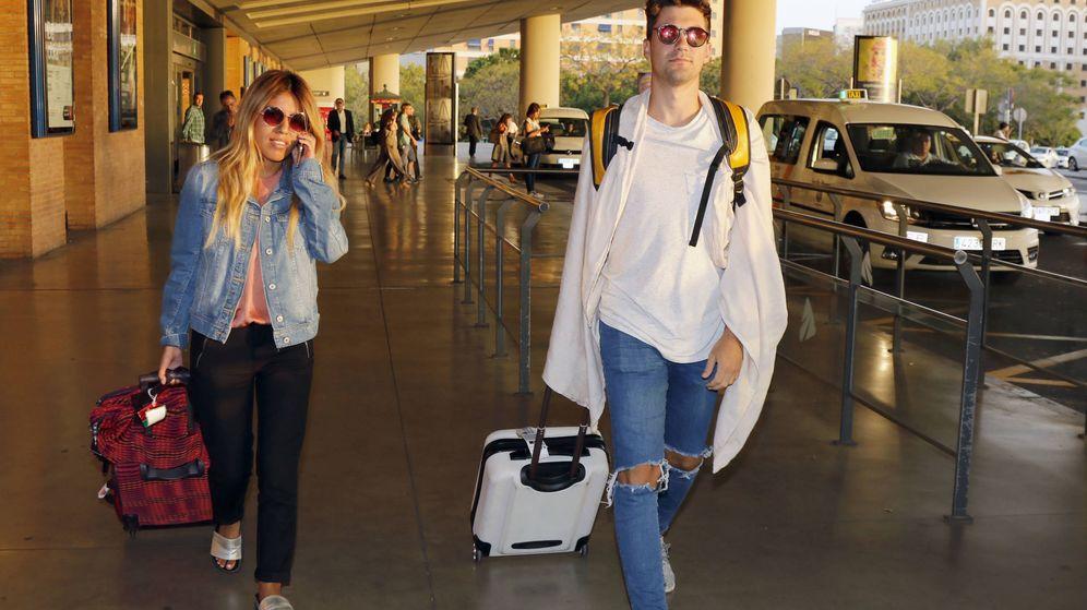 Foto: Alejandro y Chabelita a su llegada a Sevilla en una imagen de archivo. (Gtres)