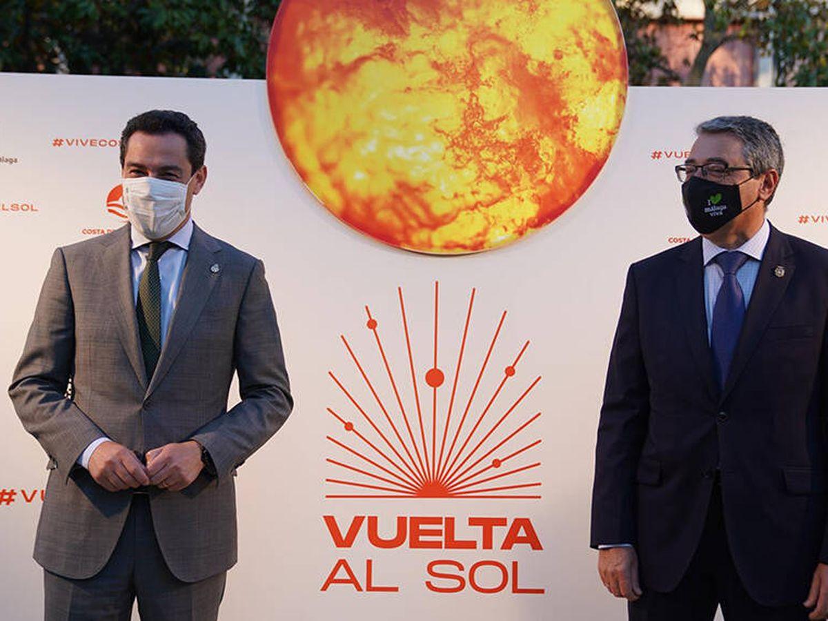 Foto: Juanma Moreno, junto a Francisco Salado.