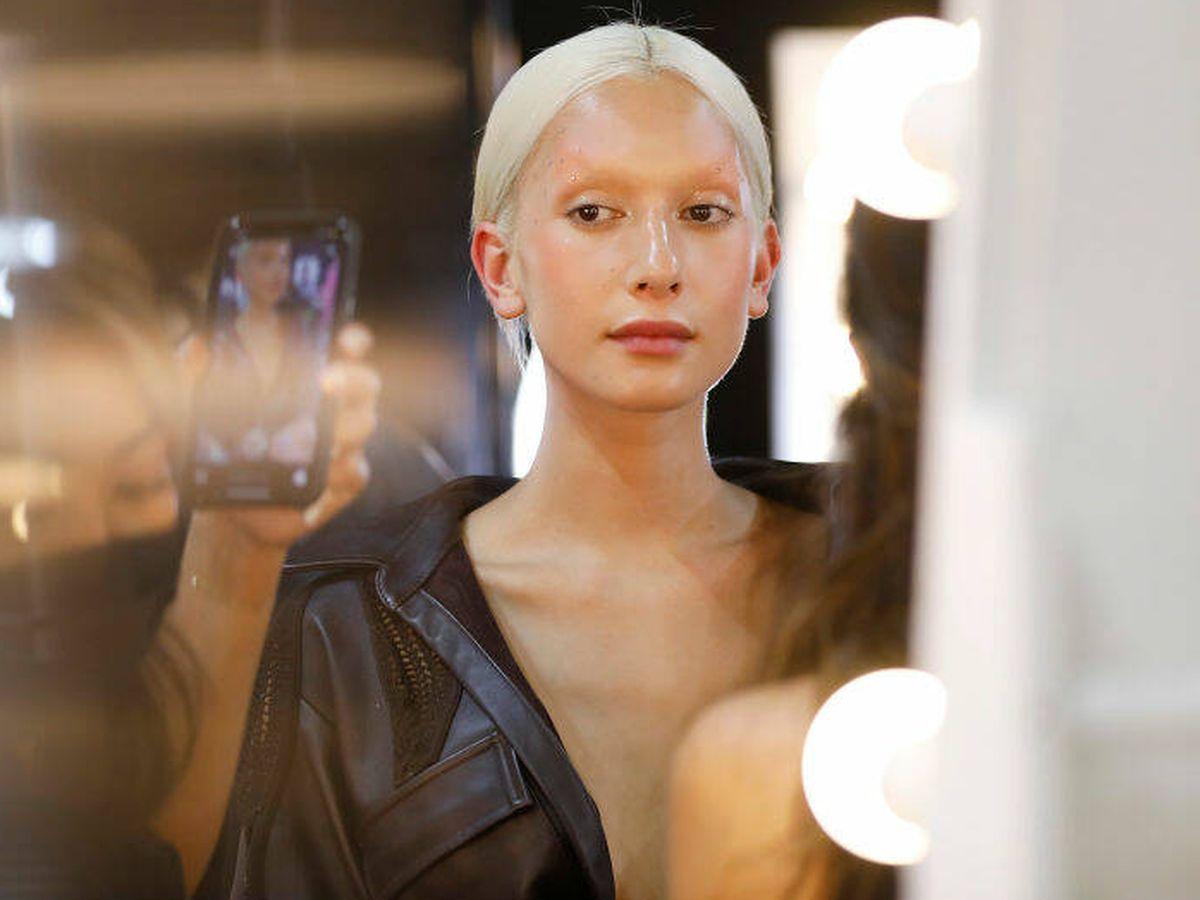 Foto: Una modelo en la Semana de la Moda de Austalia. (Getty)
