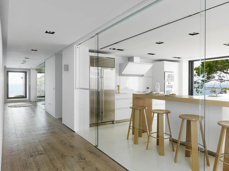 Decoraci n cocinas abiertas al exterior ocho ideas de for Cocinas rusticas para exteriores