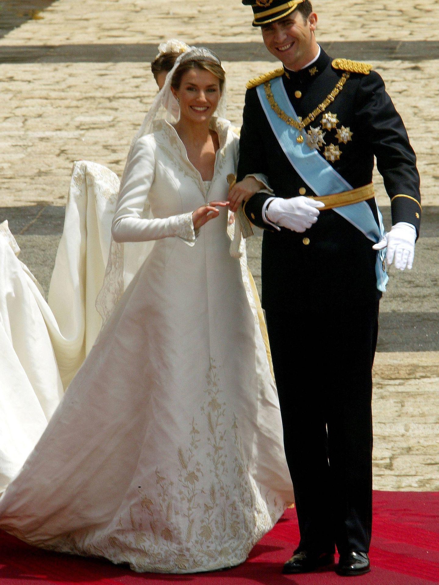 Los Reyes de España. (Getty)