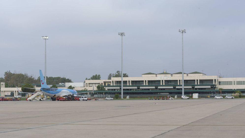 Foto: Terminal del aeropuerto de Jerez. (Aena)