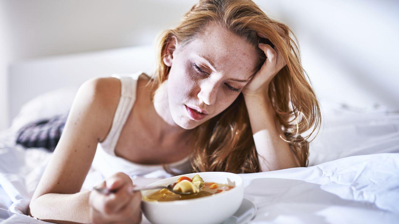 Resultado de imagen para enfermos por gripe