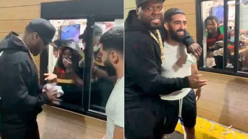 El rapero 50 Cent regala 25.000 euros a los trabajadores de un Burger King de su barrio