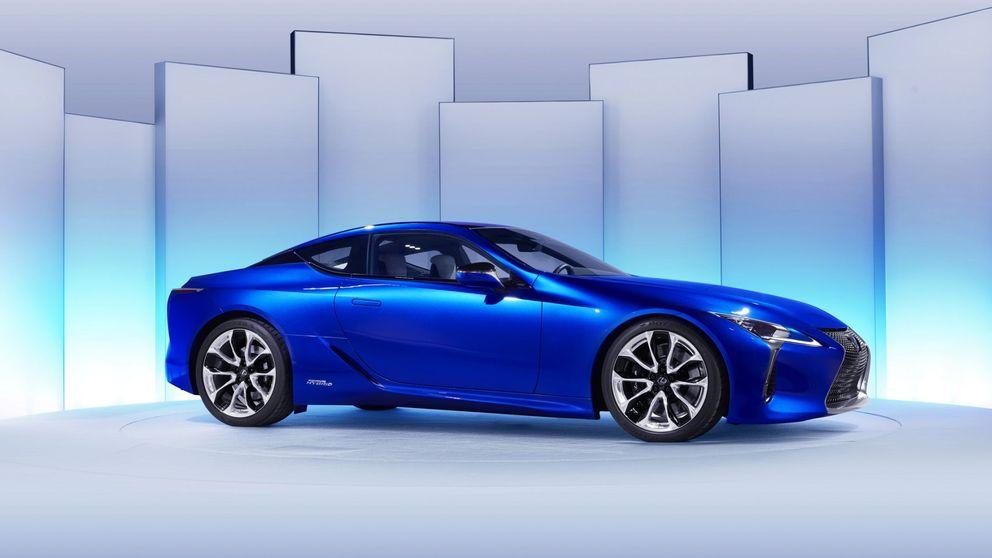 Lexus LC500h, un deportivo híbrido de altas prestaciones
