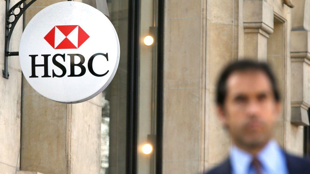 Foto: Una de las oficinas de HSBC en París. (Reuters)