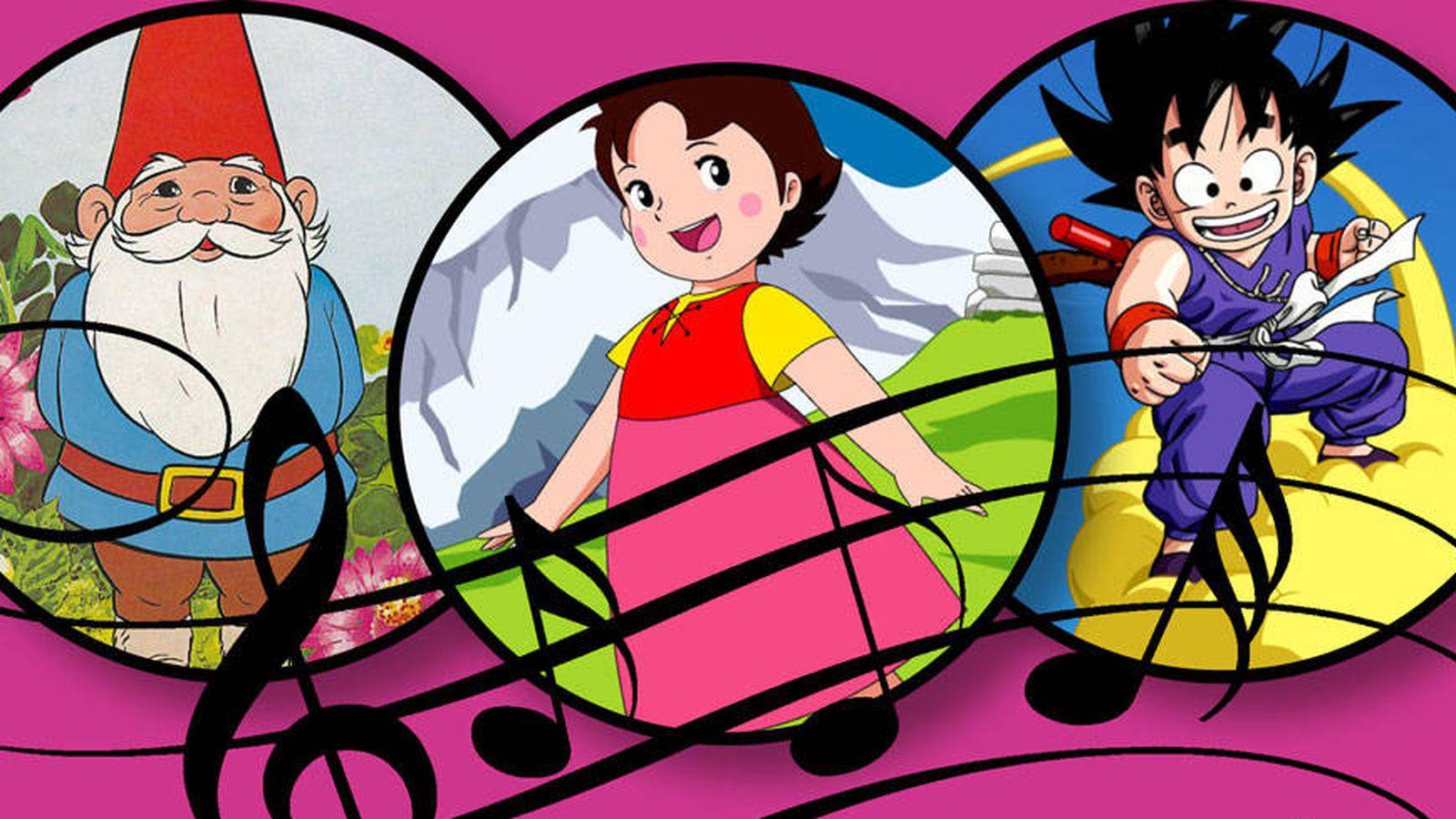 Foto: David el gnomo, Heidi y Goku, de 'Bola de Dragón'