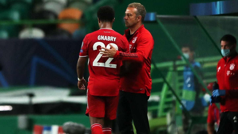Flick ha convertido a Gnabry en toda una estrella del Bayern. (EFE)