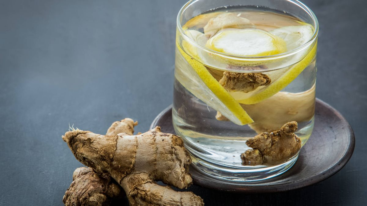 Nutrientes: Agua de jengibre. ¿No te suena realmente apetecible ...