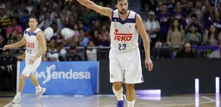Post de Teka se borra de la camiseta del Madrid: adiós a un talismán del baloncesto blanco