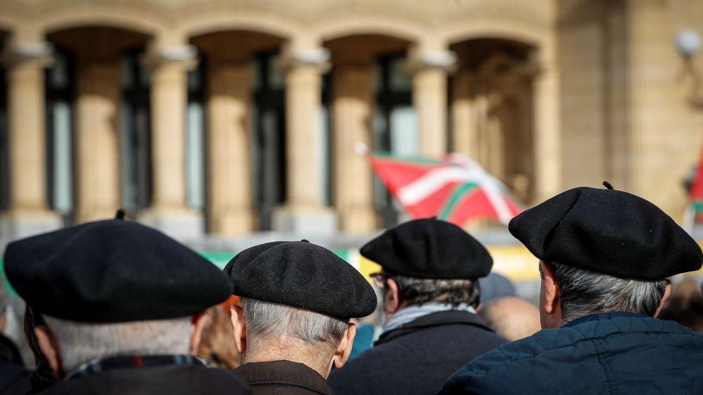 Foto: Foto de archivo de una manifestación de pensionistas en San Sebastián. (EFE)