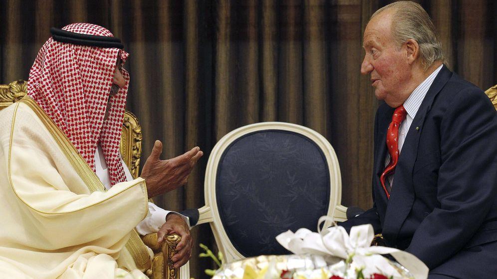 Foto: Don Juan Carlos, en una visita a Arabia Saudí. (EFE)