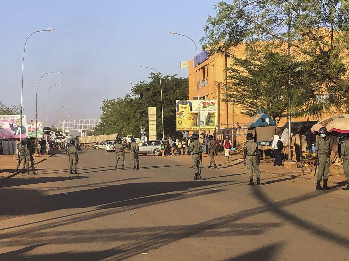 Foto: Foto de archivo de Niamey, Níger, durante las elecciones del pasado febrero. (EFE)