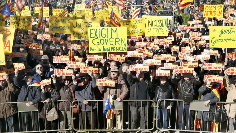 La consigna independentista es retomar la calle: en Cataluña ha de haber tensión