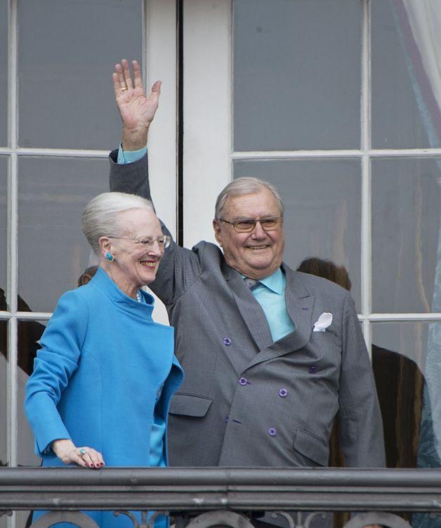 La reina de Dinamarca y su marido. (Efe)