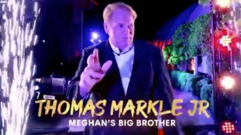 Thomas Markle Jr en el vídeo de presentación de Big Brother Australia. Cortesía Channel Seven