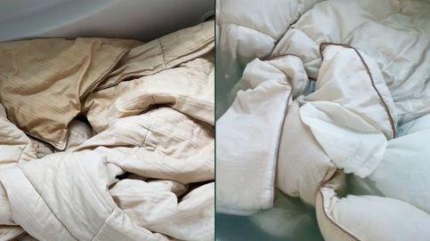 Lavó el edredón de su marido después de años y se llevó la sorpresa de su vida