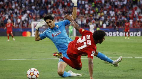 El Sevilla sobrevive en el precipicio y saca un punto afortunado contra el RB Salzburgo (1-1)