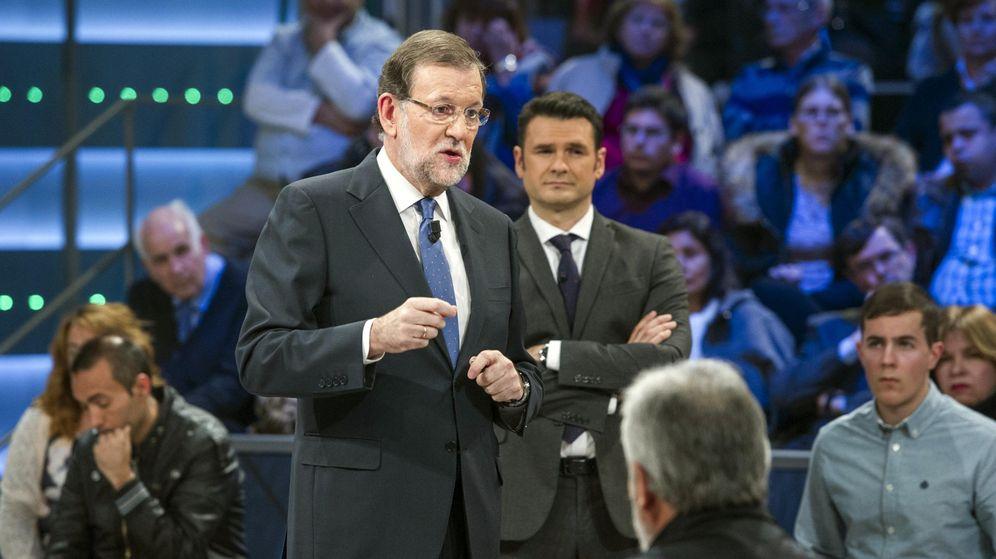 Foto: Mariano Rajoy durante su participación en el programa 'La Sexta Noche'. (EFE)