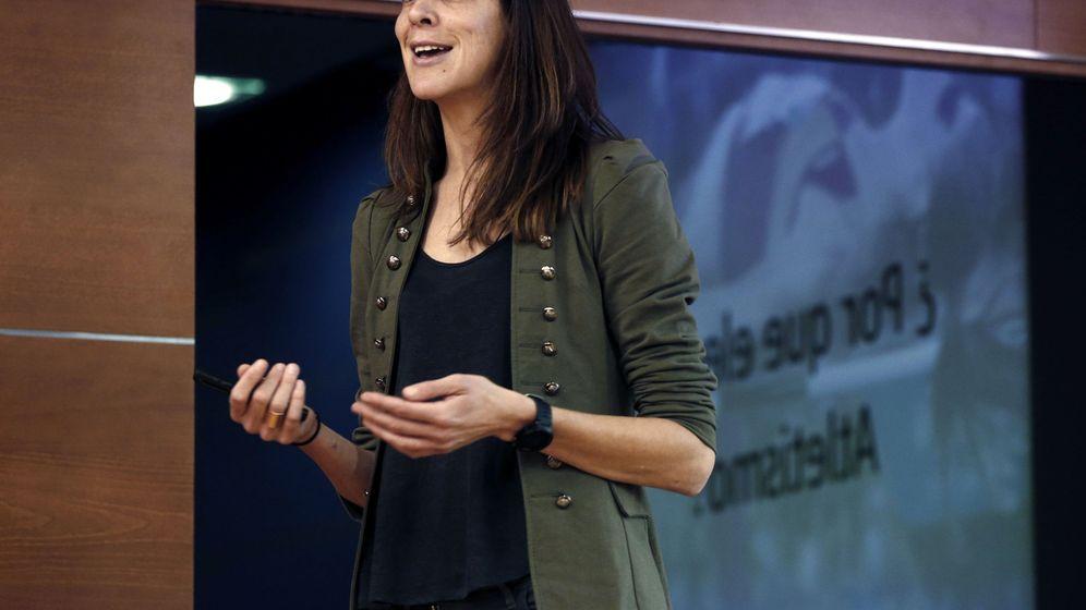 Foto: Ruth Beitia, mejor atleta española del año (EFE)