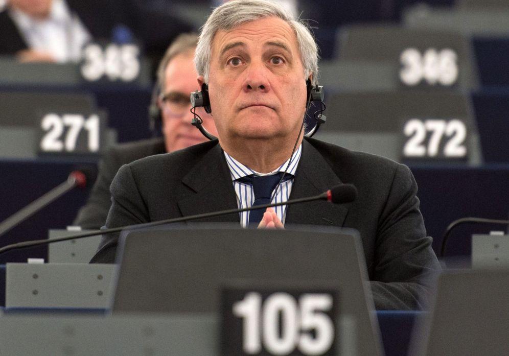 Foto: Antonio Tajani, del Grupo del Partido Popular Europeo (PPE), participa de la sesión plenaria del Parlamento Europeo el martes 13 de diciembre de 2016 (EFE)