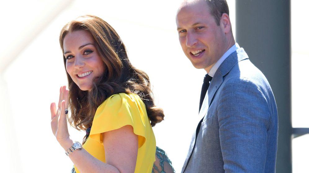 Foto: Kate Middleton y el príncipe Guillermo en una foto de archivo. (Getty)