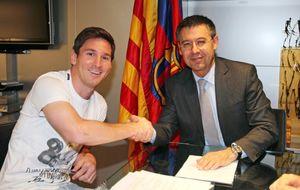 Bartomeu da motivos para poner en peligro el destino de Leo Messi