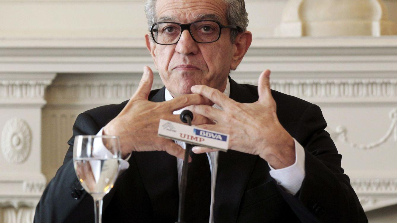 Foto: Braulio Medel, presidente de Unicaja. (EFE)